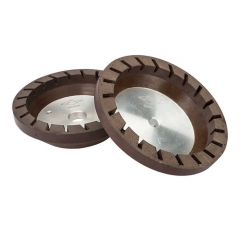 Resin Wheel (Turbo,Aluminium Base) 150*12(Bore)*16*12 + 3#
