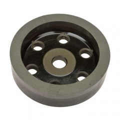 Resin Wheel for Shape Bevelling 150*22(Bore)*16*12 + 240#