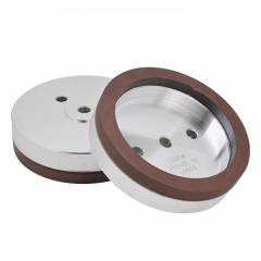 Dia 150 Resin Wheel(Red Sand)150*12(Bore)*20*10 + 240#